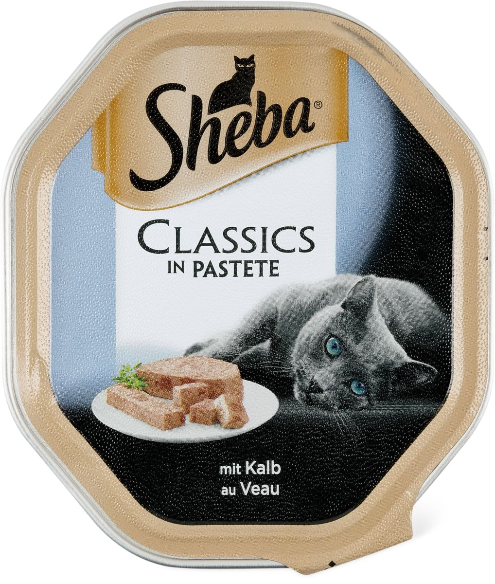 Sheba Classics in Pastete Kalb & Huhn