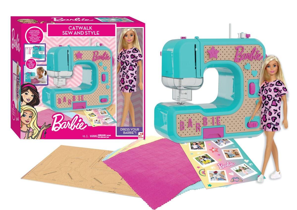 Barbie Macchina cucire Set di bricolage