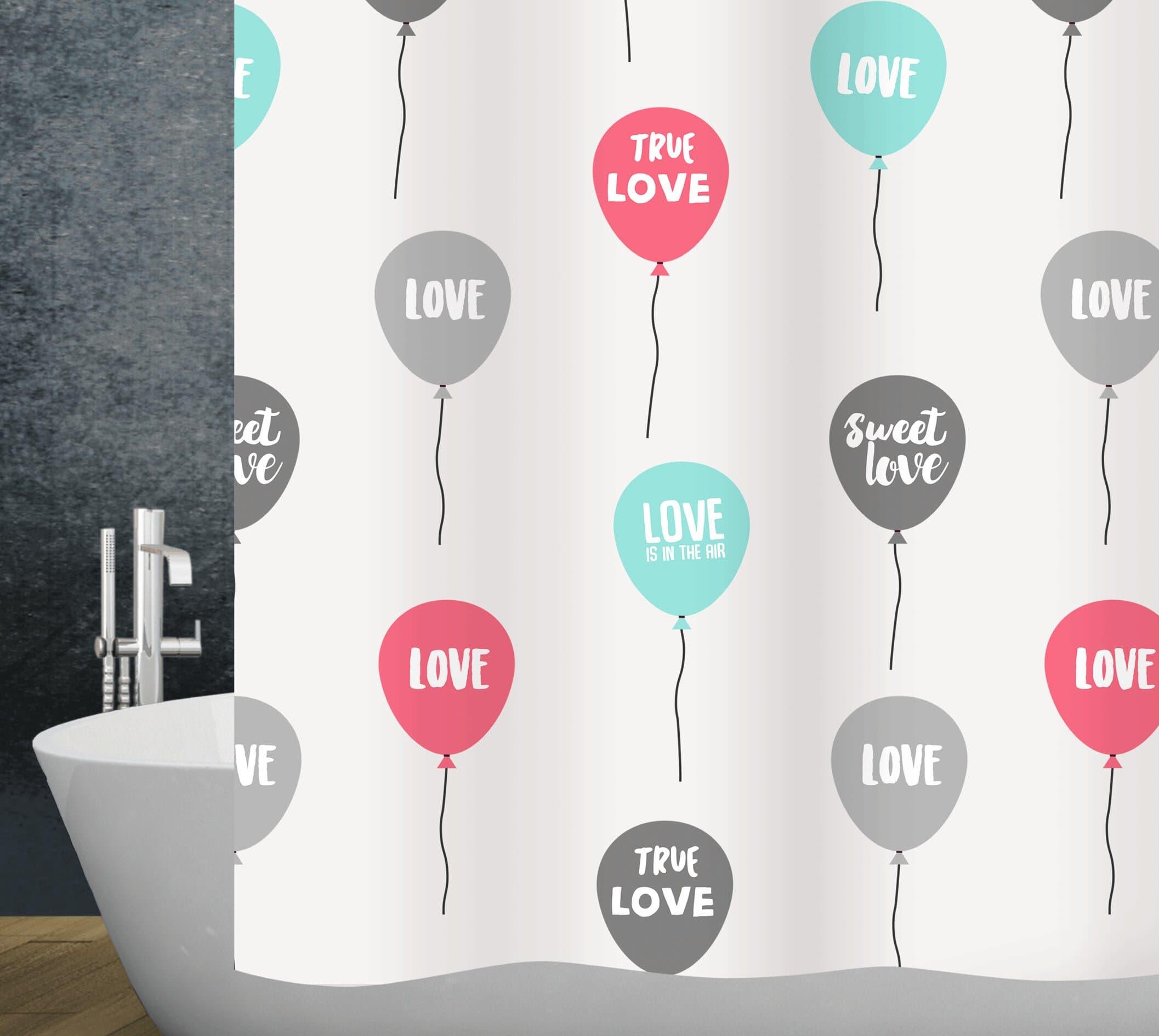 diaqua Duschvorhang Love