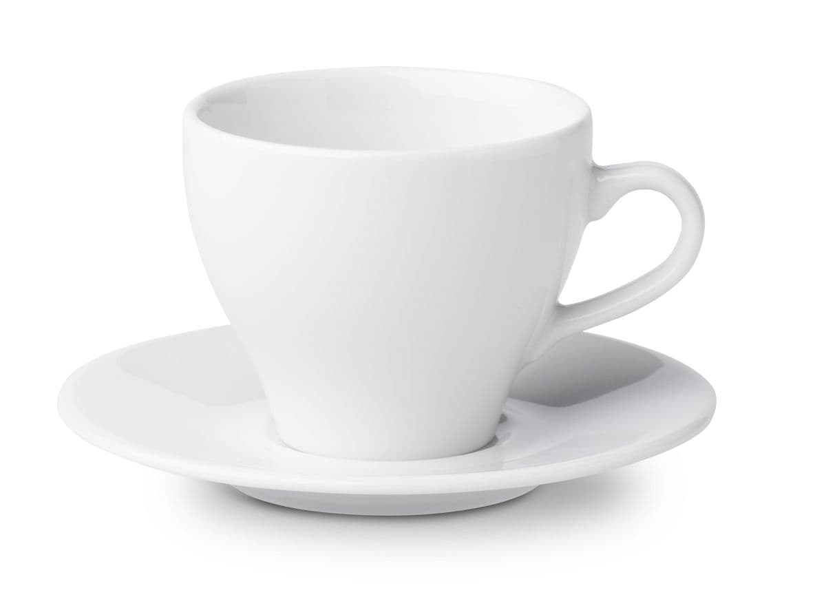 Cucina & Tavola CLASSIC Kaffeetasse mit Unterteller