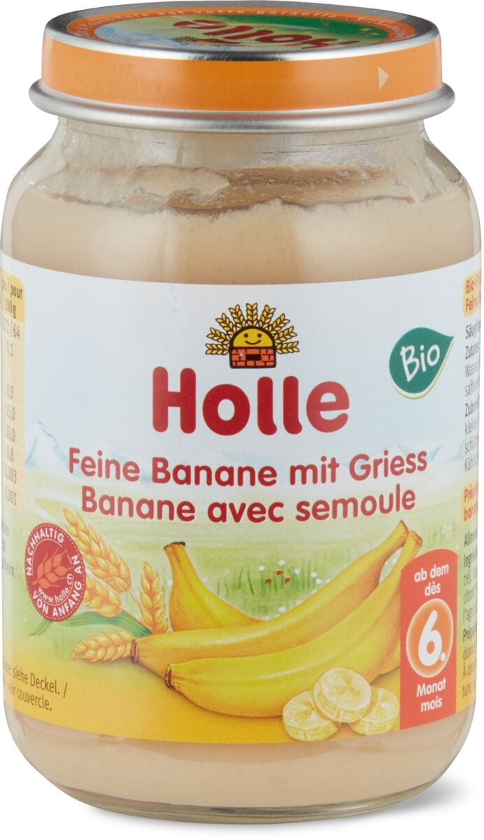 banane con semolino