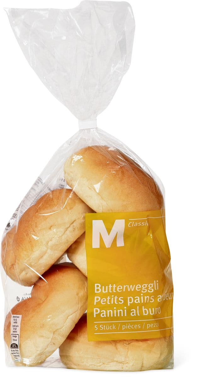 M classic butterweggli migros for Petit four a pain