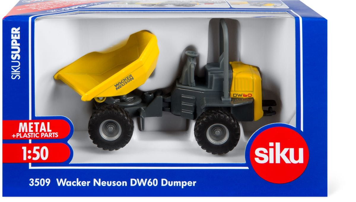 Siku Dumper Wacker Neuson DW60 Modellfahrzeug