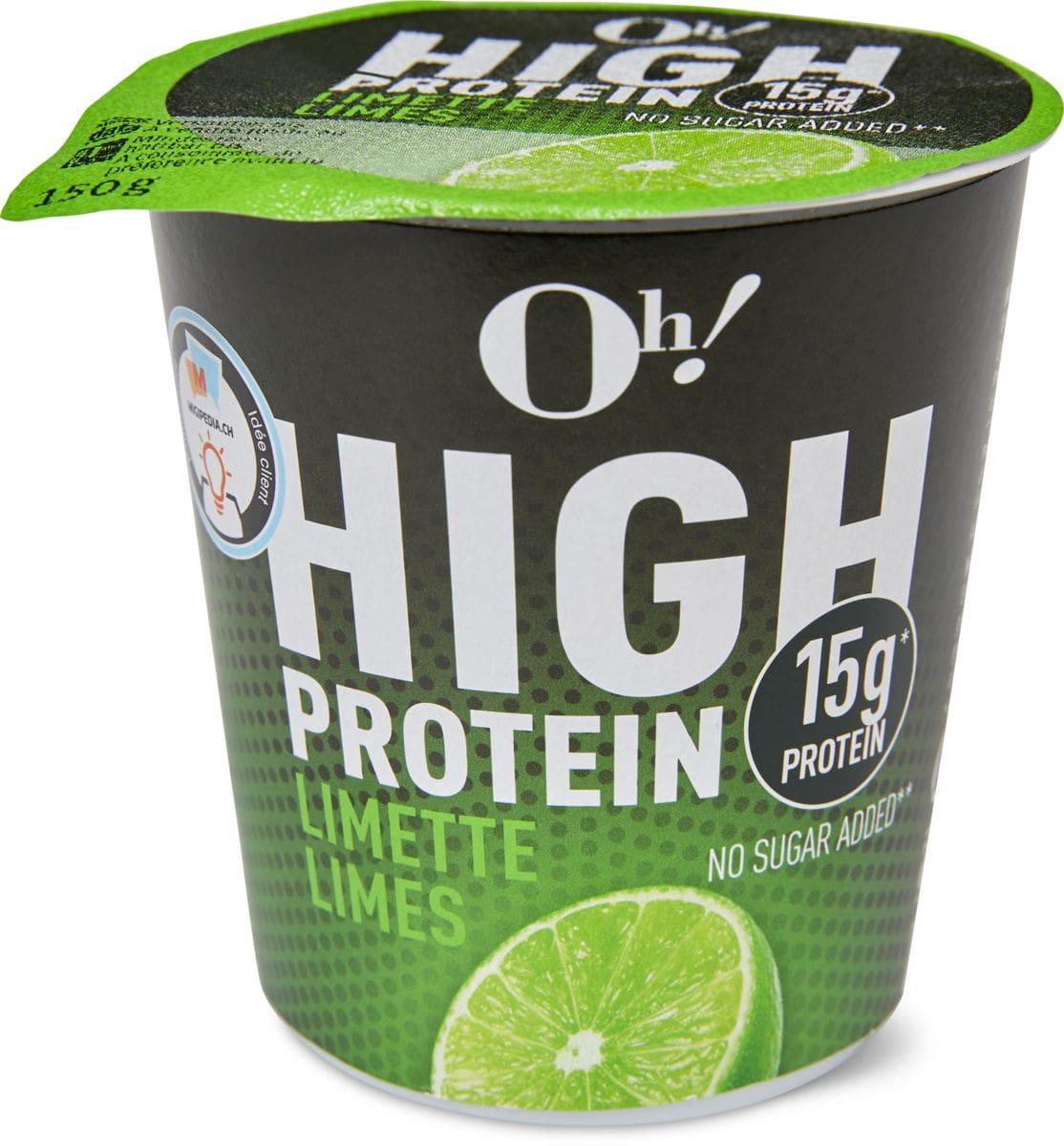 Oh! High Protein Limetten