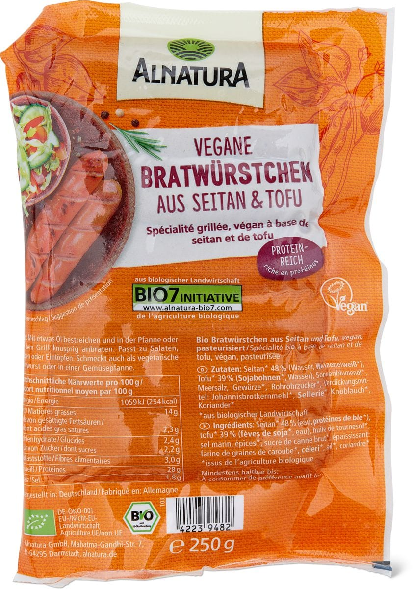 Alnatura cipollata vegetariana