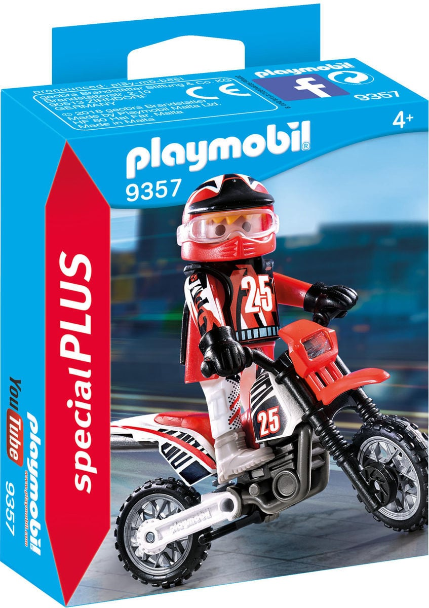 Playmobil Campione di motocross