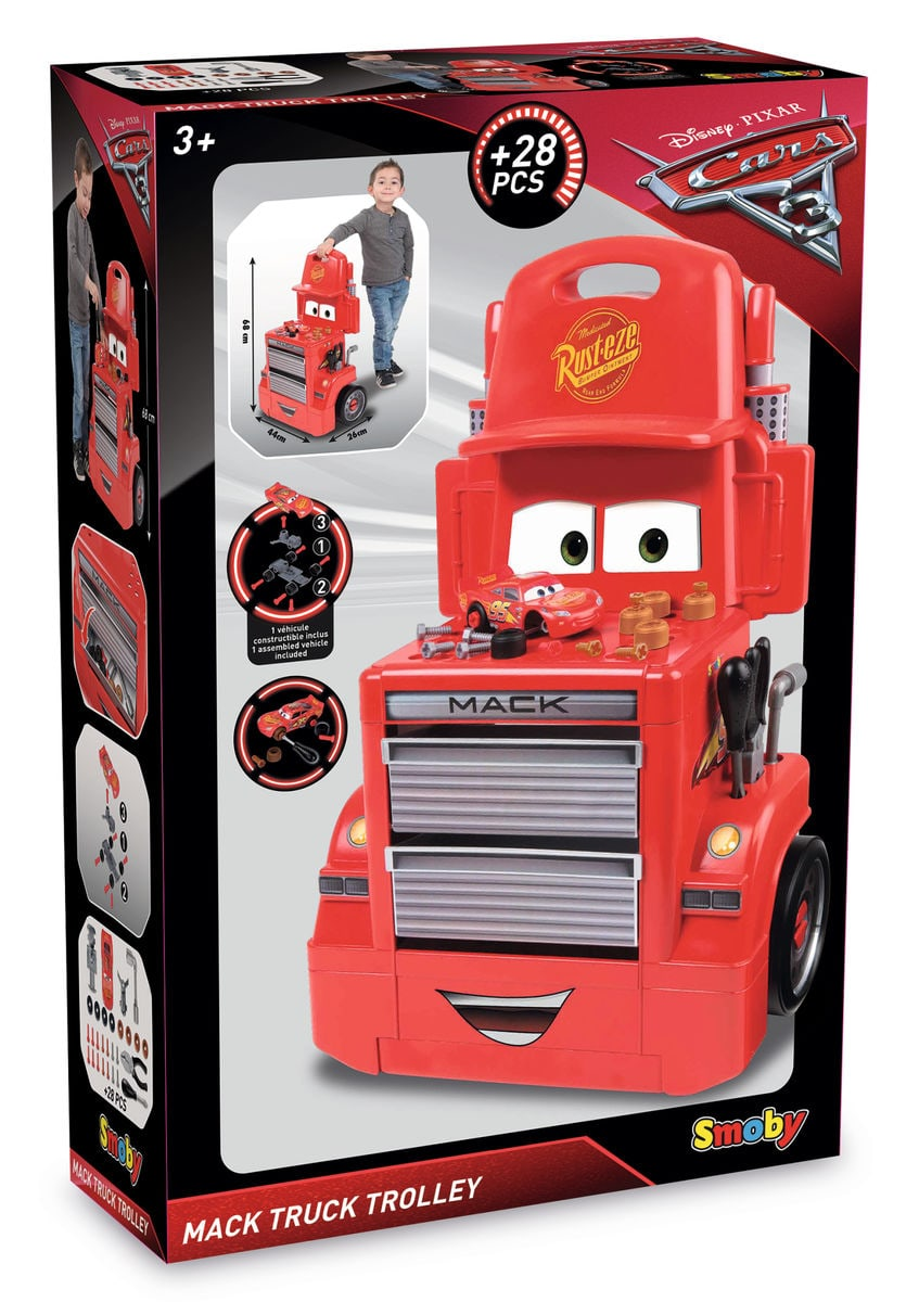 Smoby Cars Mack Truck Trolley