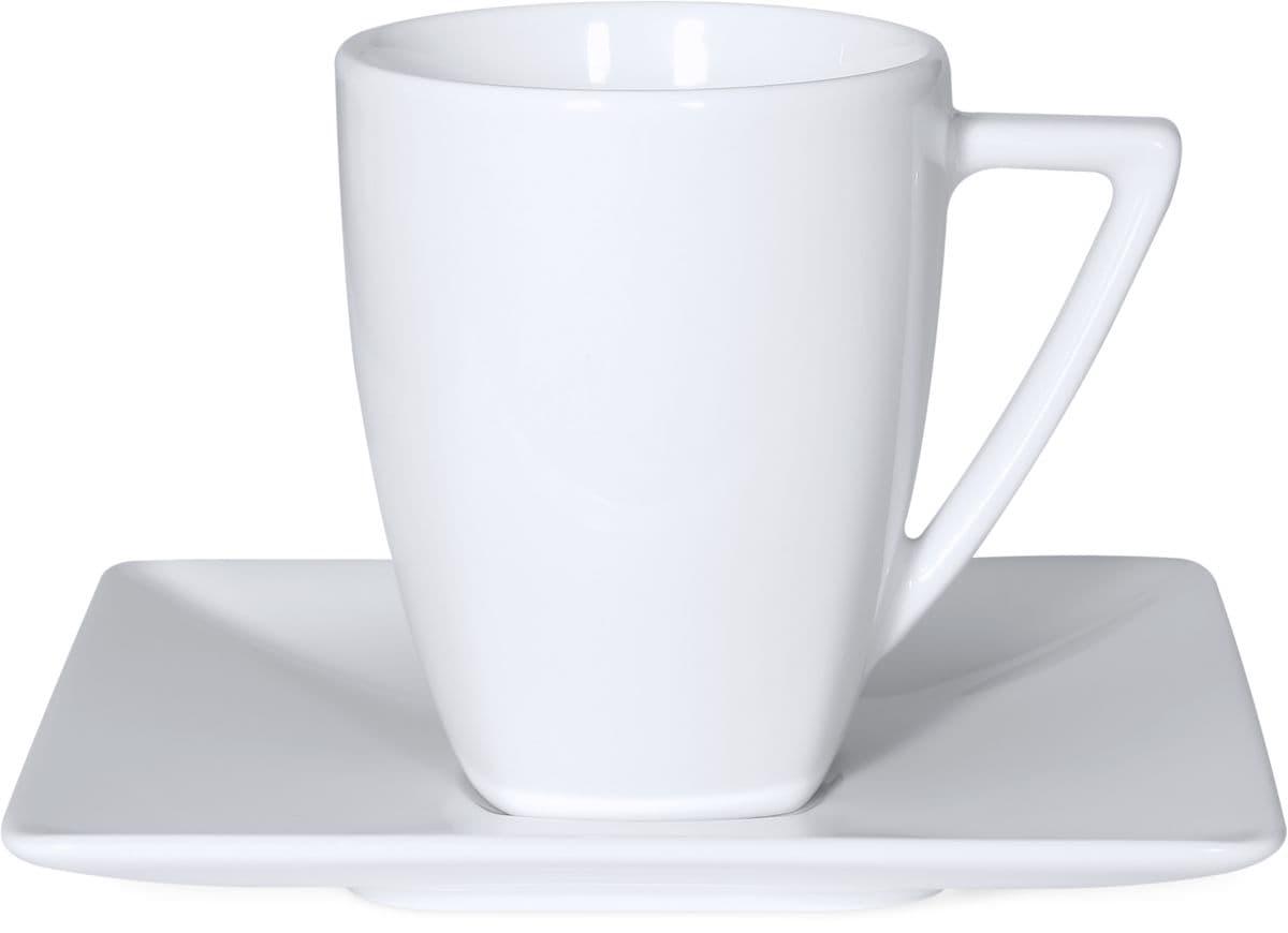 Cucina & Tavola ASIA Kaffeetasse mit Unterteller