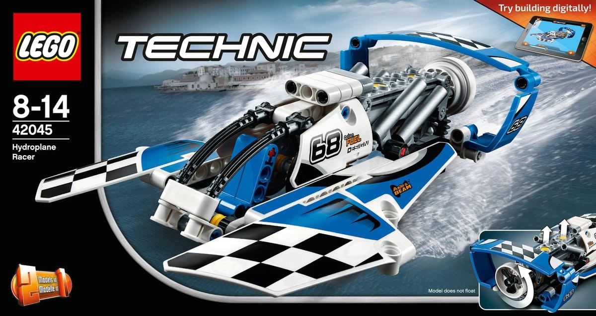 lego technic renngleitboot 42045 migros. Black Bedroom Furniture Sets. Home Design Ideas