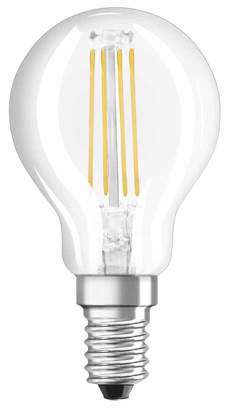 osram led e14 40w filament cl p40 migros. Black Bedroom Furniture Sets. Home Design Ideas