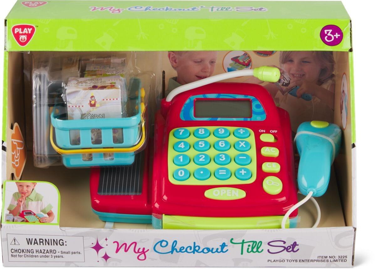 Playgo Meine Elektronische Minikasse Rollenspiel