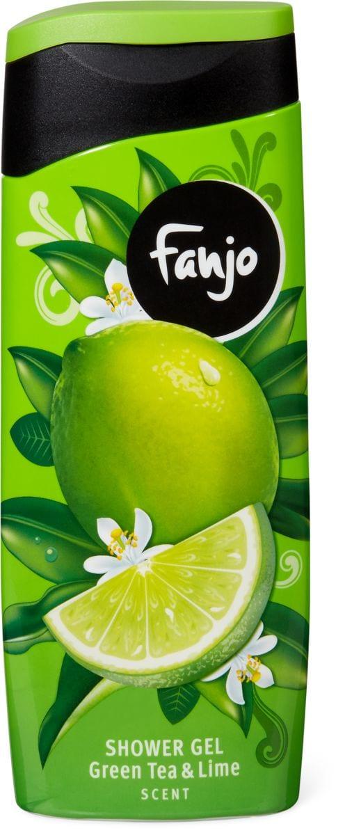Fanjo doccia dalla profumazione green tea & lime