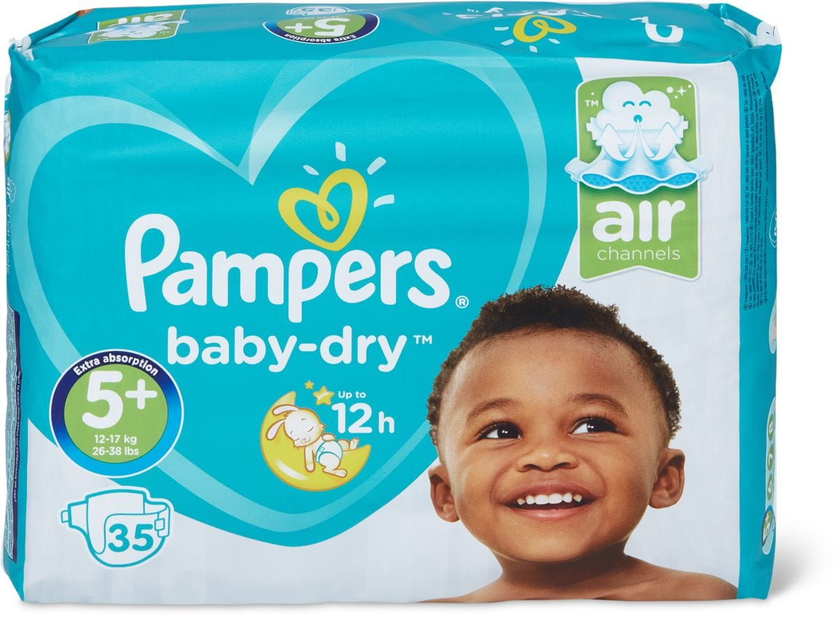 Pampers Baby Dry Gr. 5+