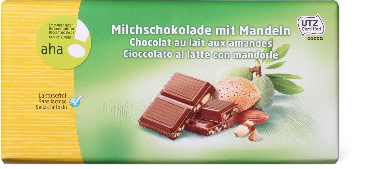 Aha! Cioccolato al latte mandorle