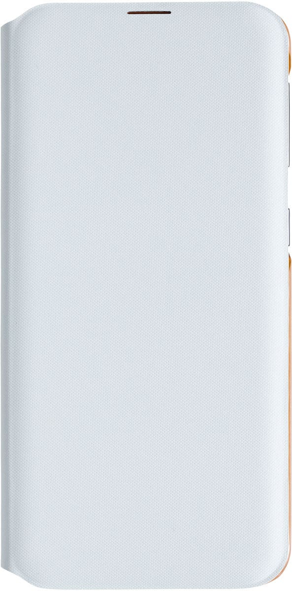 Samsung Wallet Cover A20e Bianco Custodia