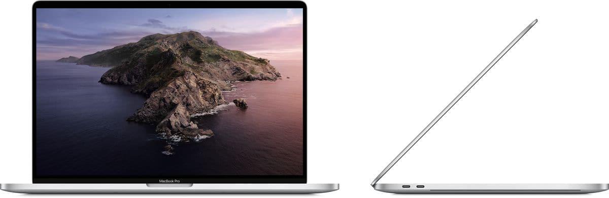 Apple MacBook Pro 16 TouchBar 2.3GHz i9 16GB 1TB SSD silver