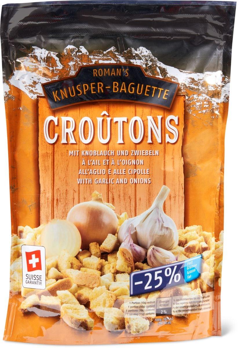 Croûtons Knoblauch & Zwiebeln