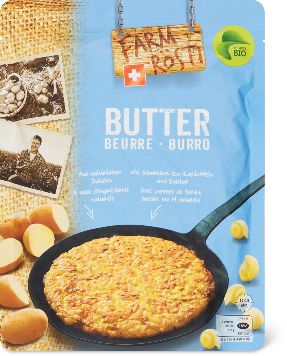 Bio Farm Rösti Butter