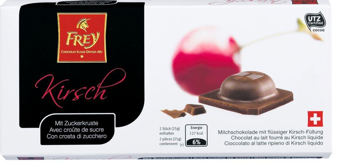 Cioccolato Kirsch con crosta zucchero