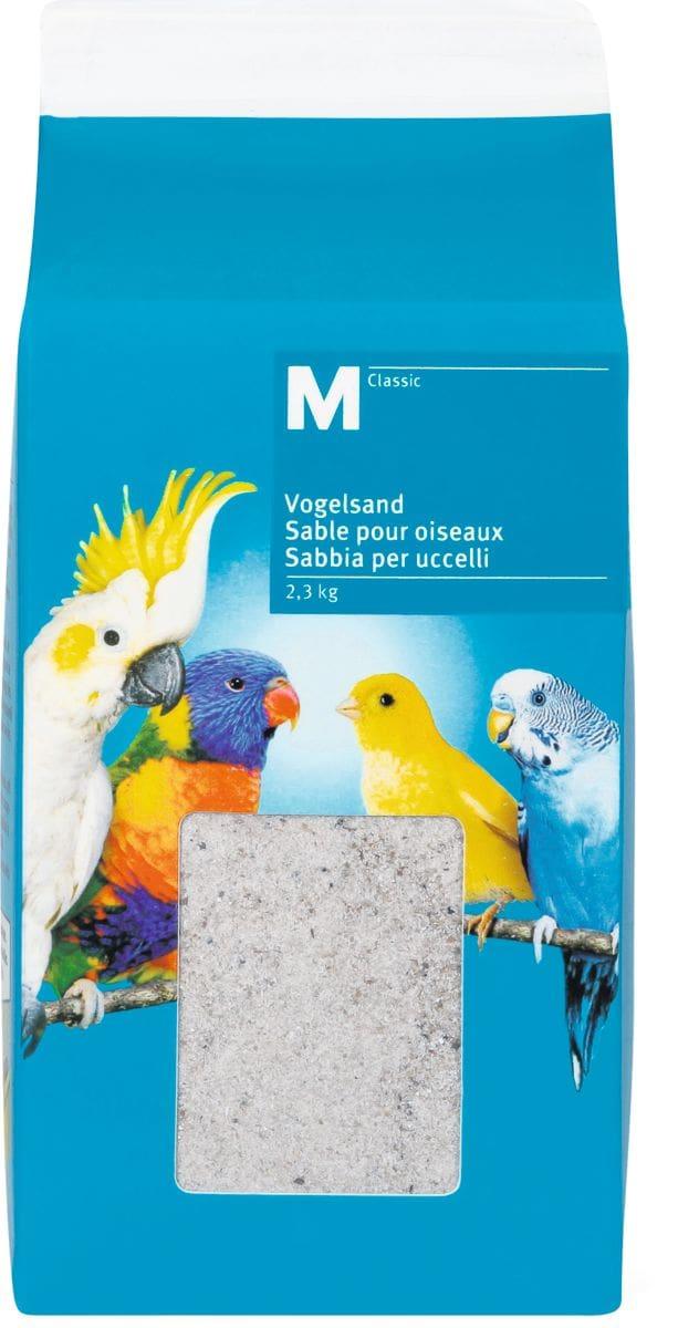 M-Classic Sable pour oiseaux