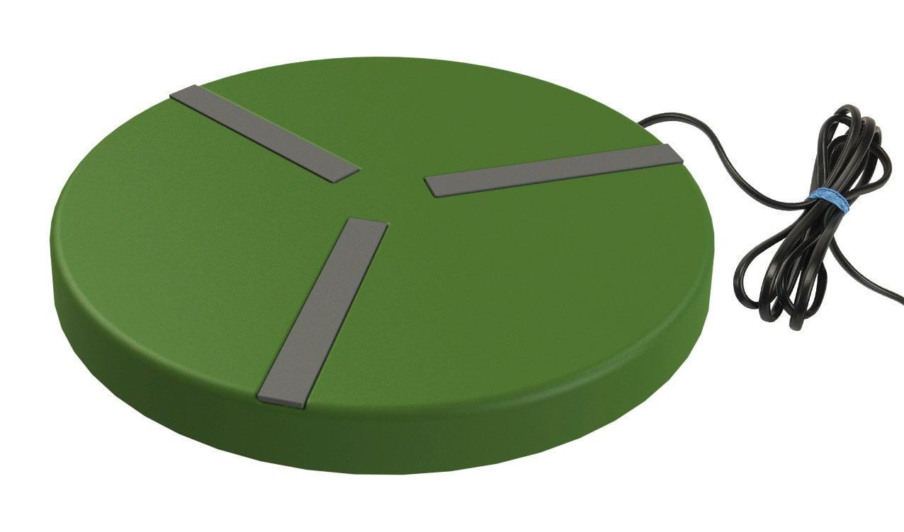 Heizplatte für Geflügeltränken Ø250mm; 24V; 15W; mit Netzteil