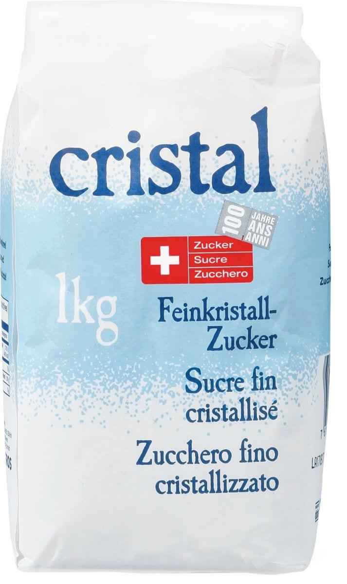 Cristal Sucre fin cristallisé