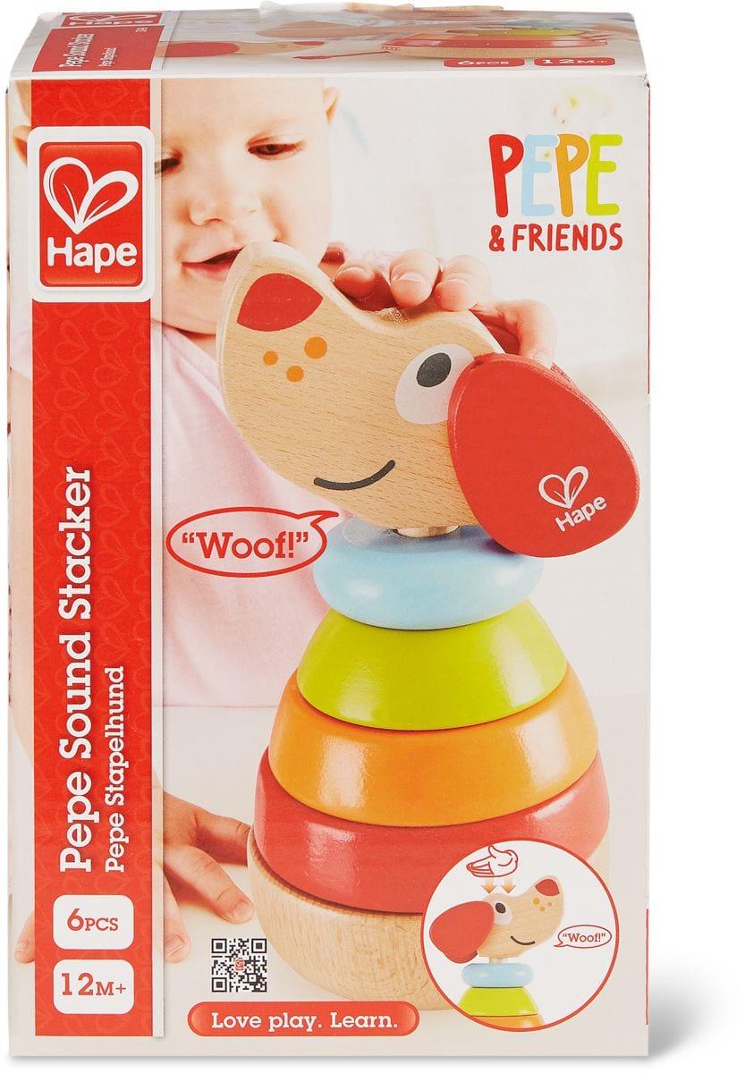 Hape Impilabile Pepe Arcobaleno Set di giocattoli