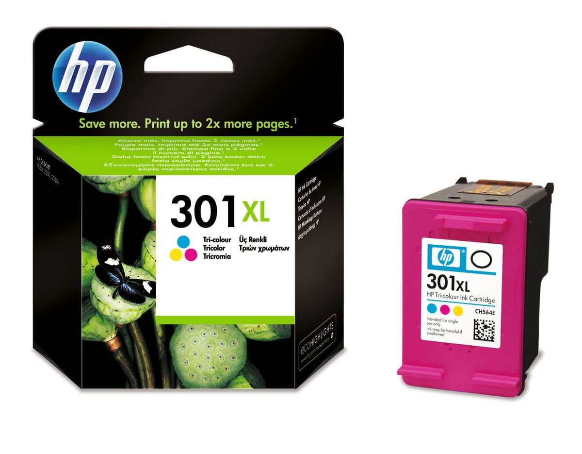 HP CH564EE Nr. 301XL color Cartuccia d'inchiostro