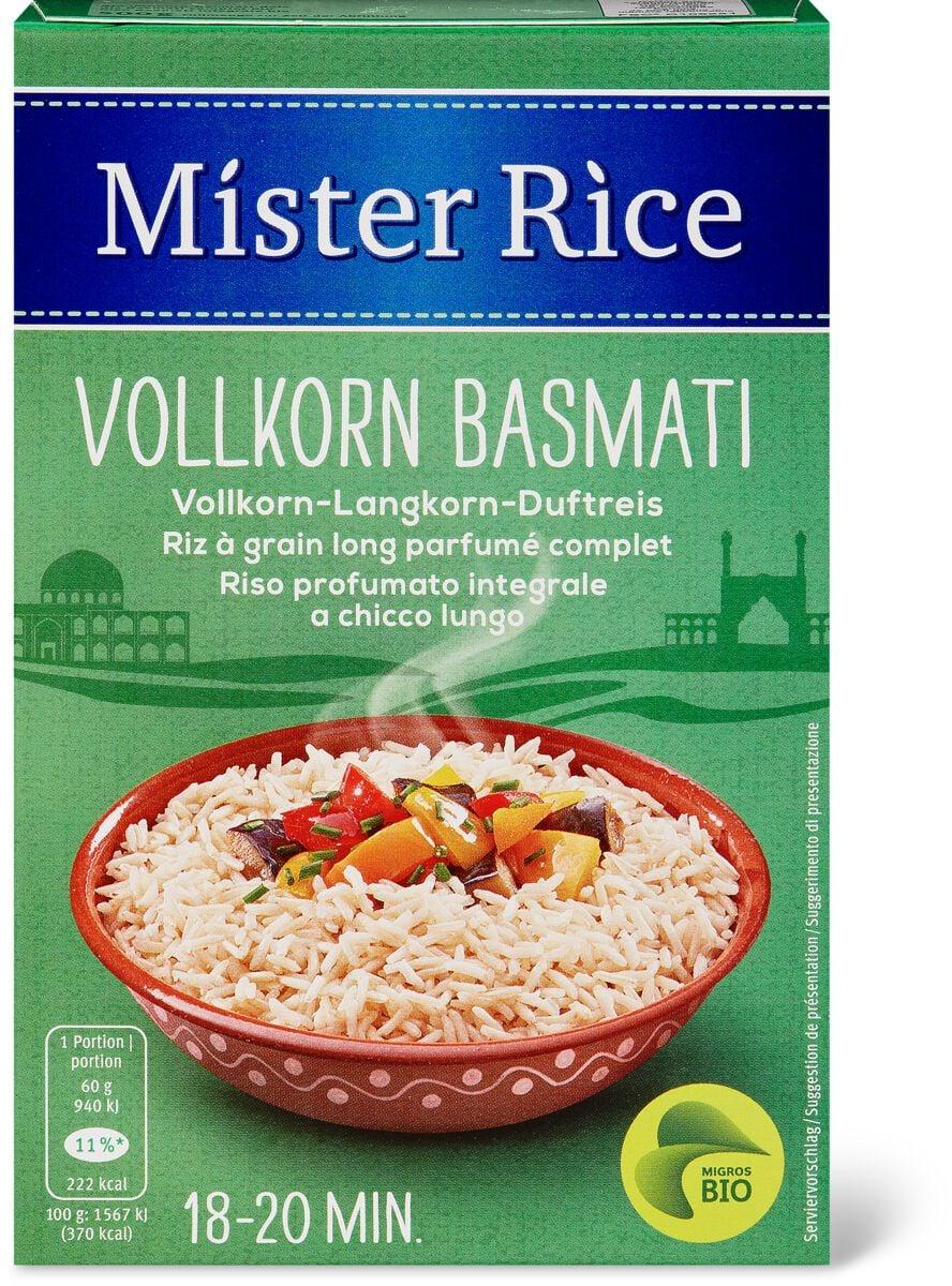 Bio Mister Rice Vollkorn Basmati