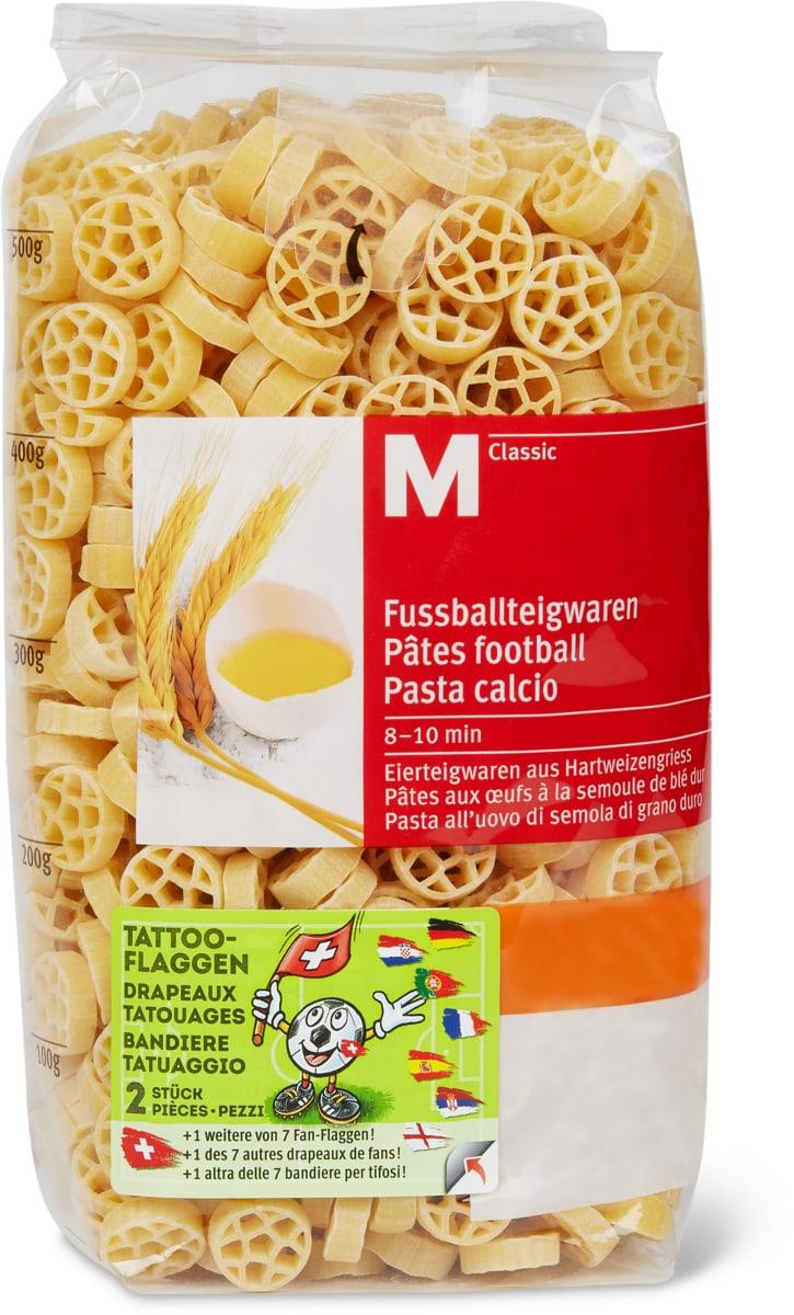 M-Classic Fussballteigwaren