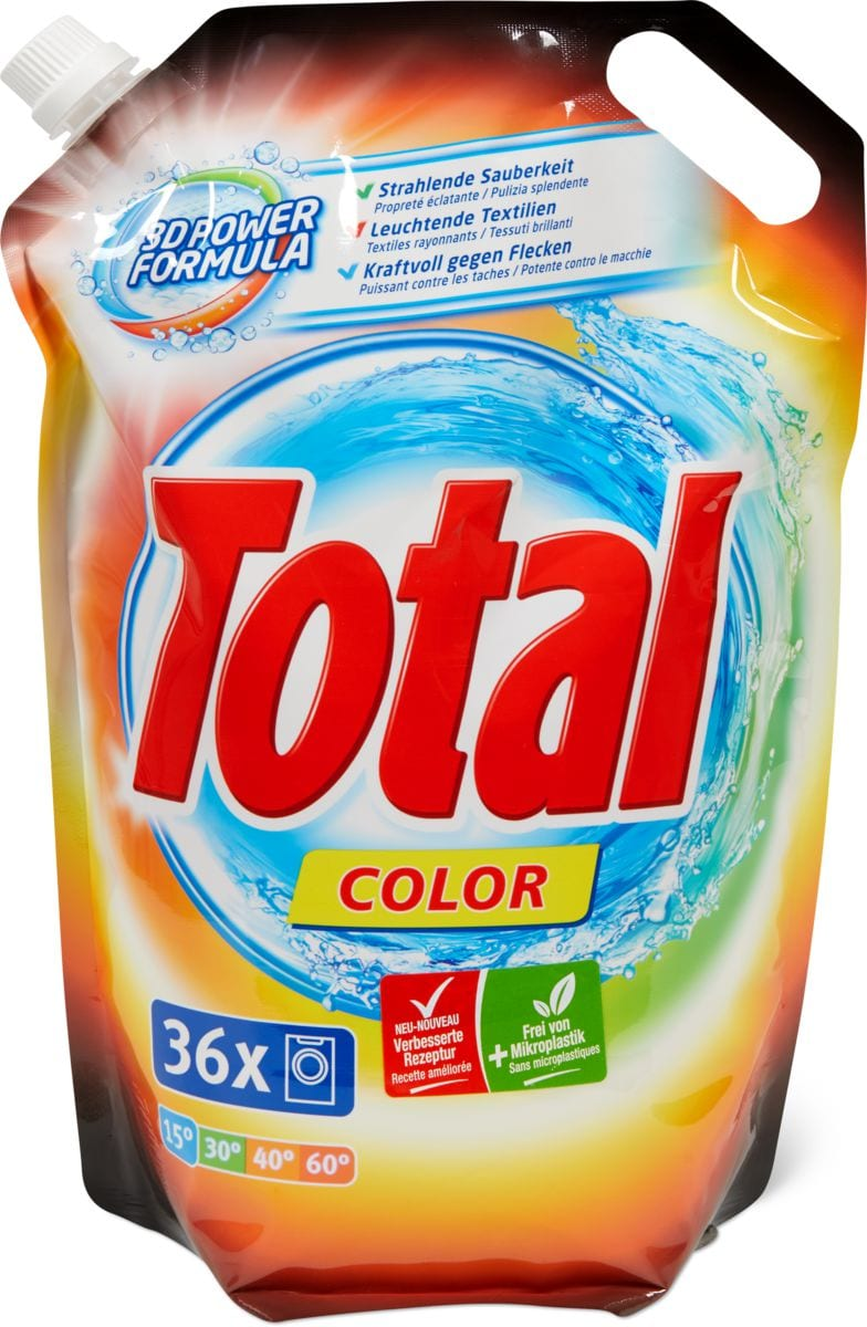 Total Color detergente