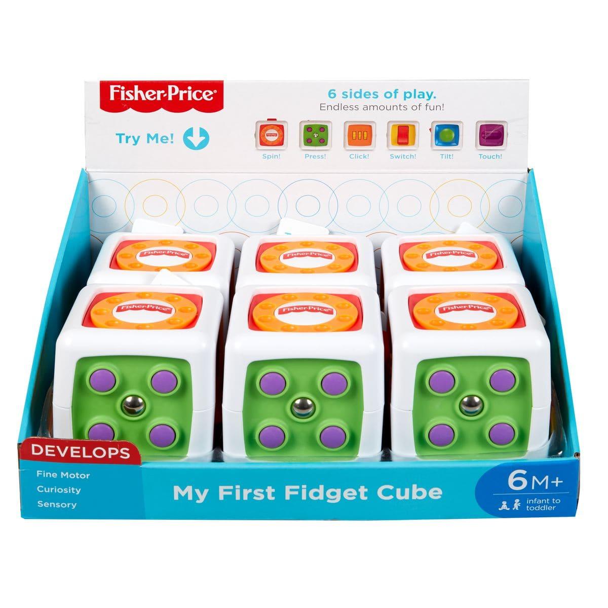 Fisher-Price Fwp34 Babys Spielwürfel Lernspiel