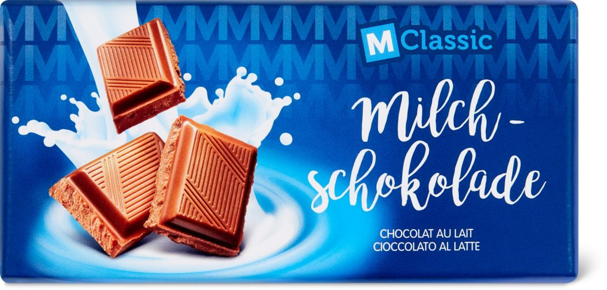 M-Classic Milchschokolade