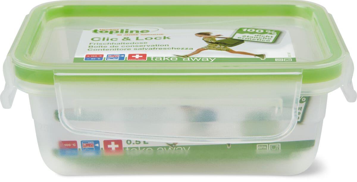 M-Topline TAKE AWAY Frischhaltedose 0.5L Frischhaltebox 0,5 l 