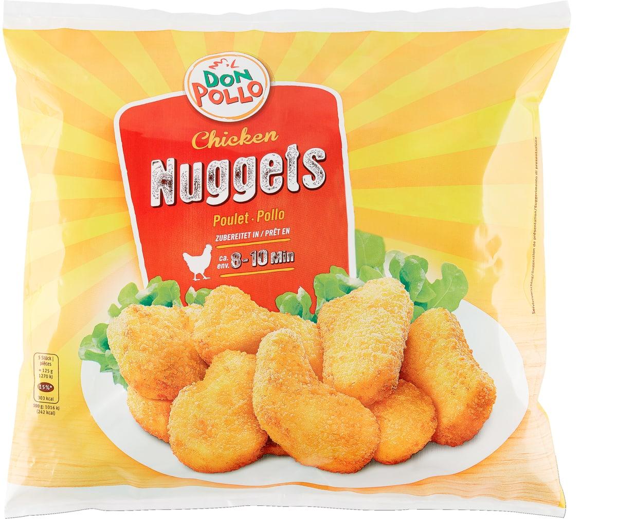 Don Pollo Chicken-Nuggets 1 kg - Bei allen Angeboten sind M-Budget und bereits reduzierte Artikel ausgenommen.