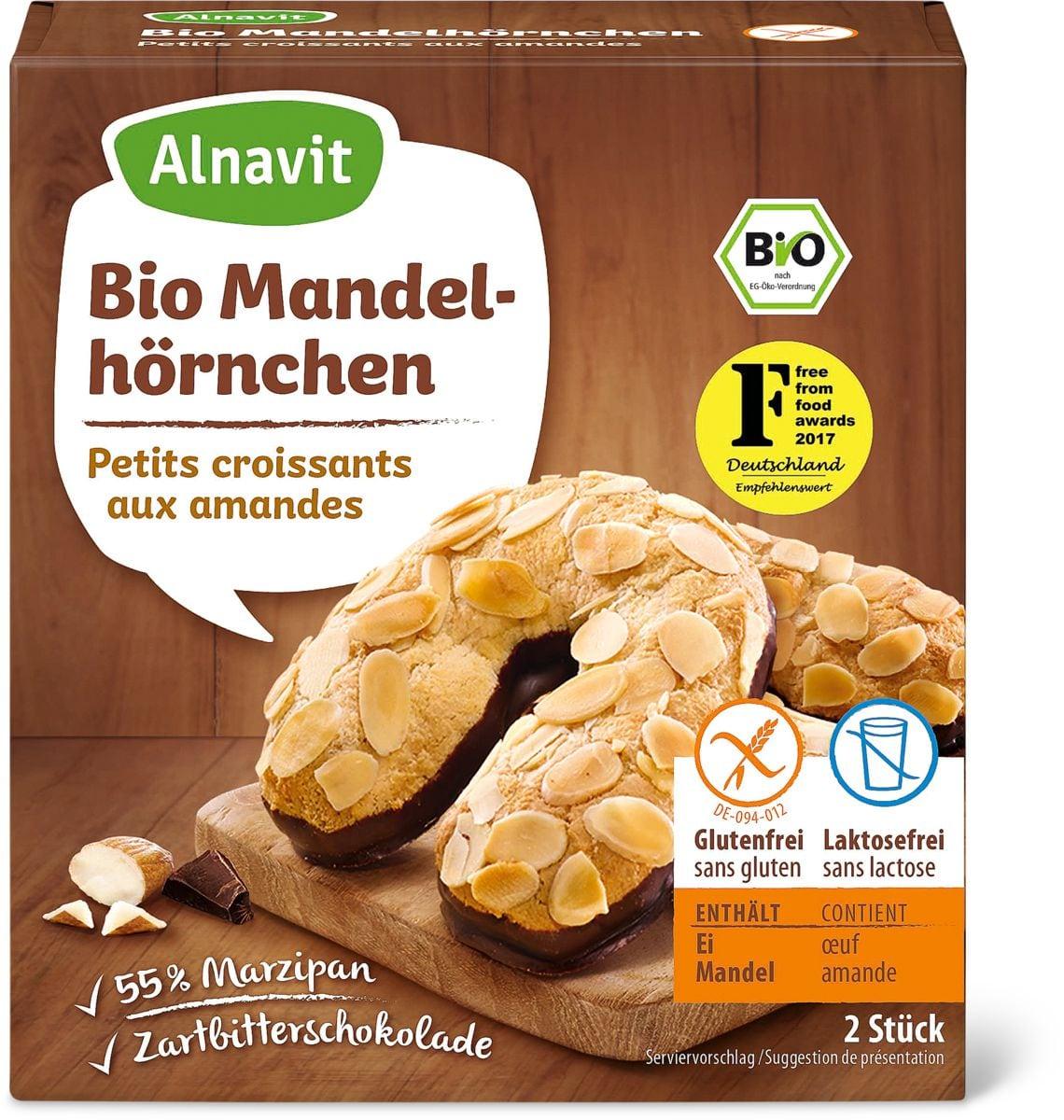Alnavit petits Croissants amandes