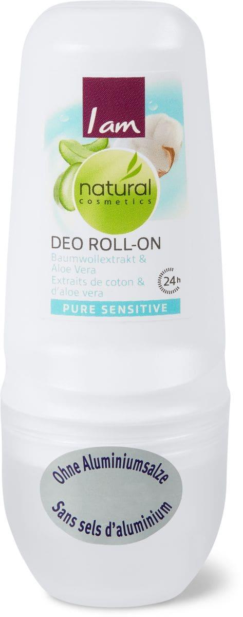 I am Natural Cosmetics pure sensitive Deo Roll-on