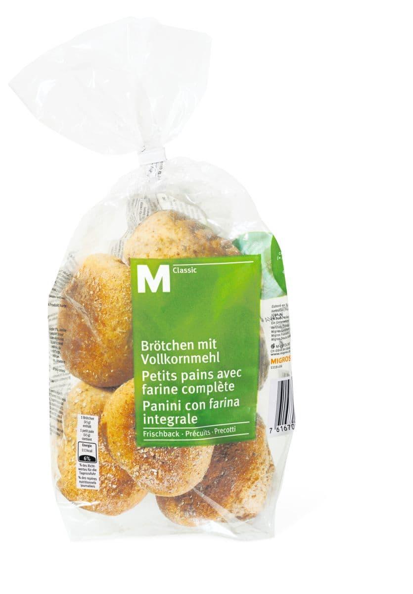 M-Classic pains avec farine complète
