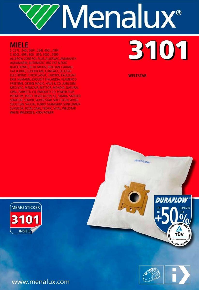 Menalux 3101 Duraflow Staubsauger-Staubbeutel | Migros