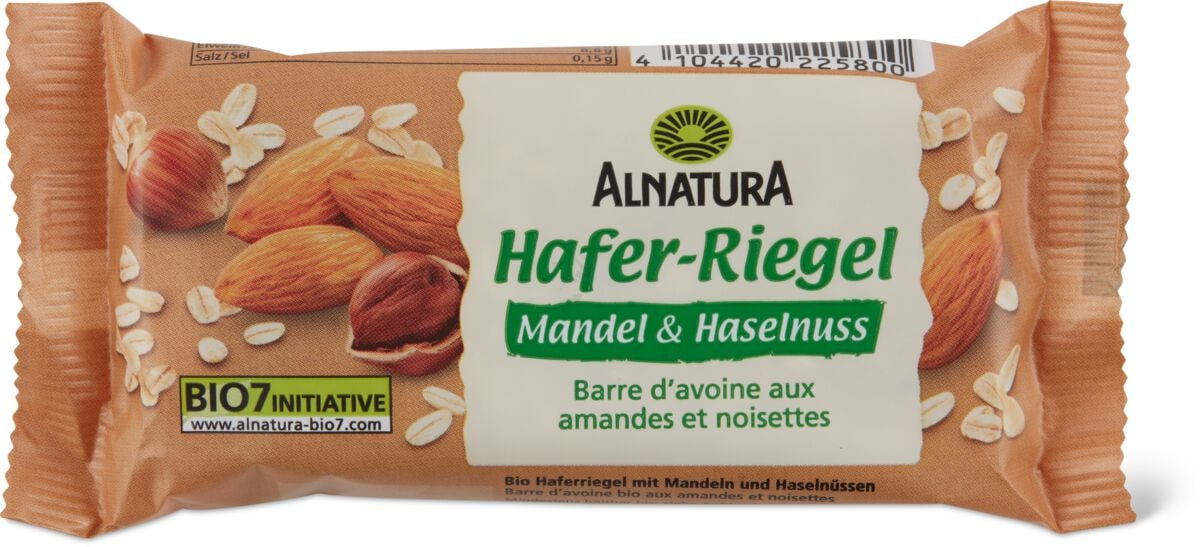 Alnatura Hafer Rieg. Mandel & Haselnuss
