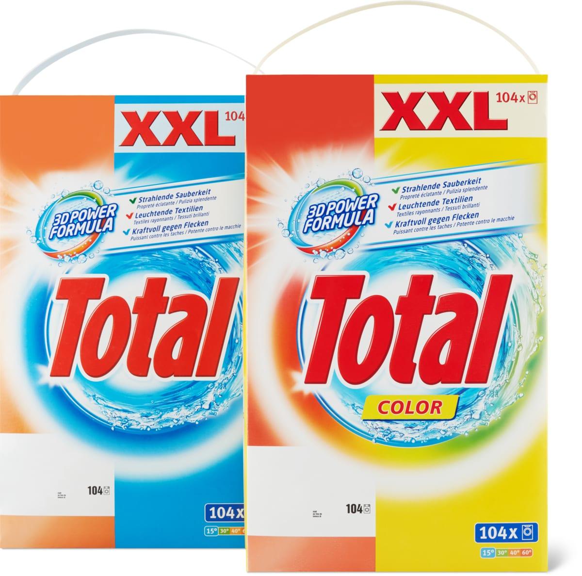 Total Waschmittel, 7.8 kg