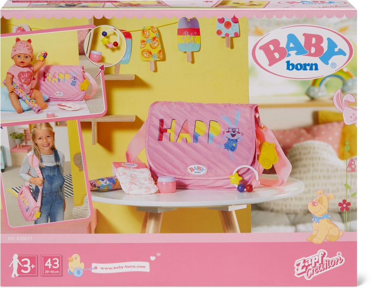 Zapf Creation Baby Born Wickeltasche Puppenzubehör