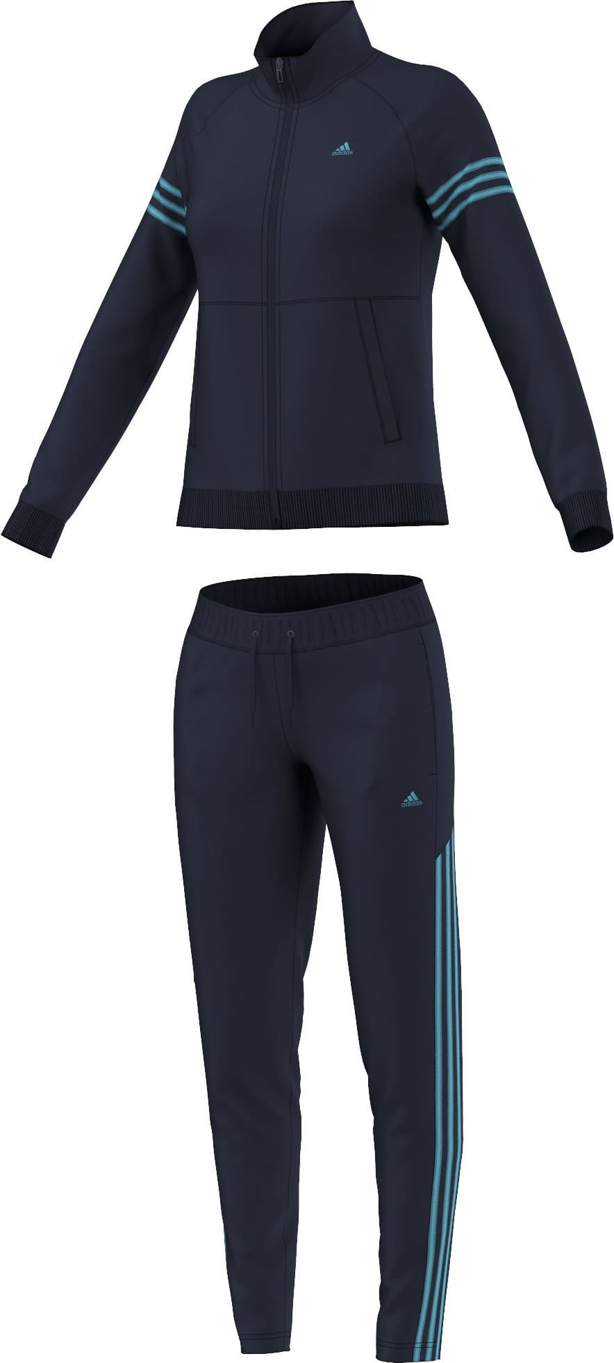 adidas teamsport suit damen trainer migipedia. Black Bedroom Furniture Sets. Home Design Ideas