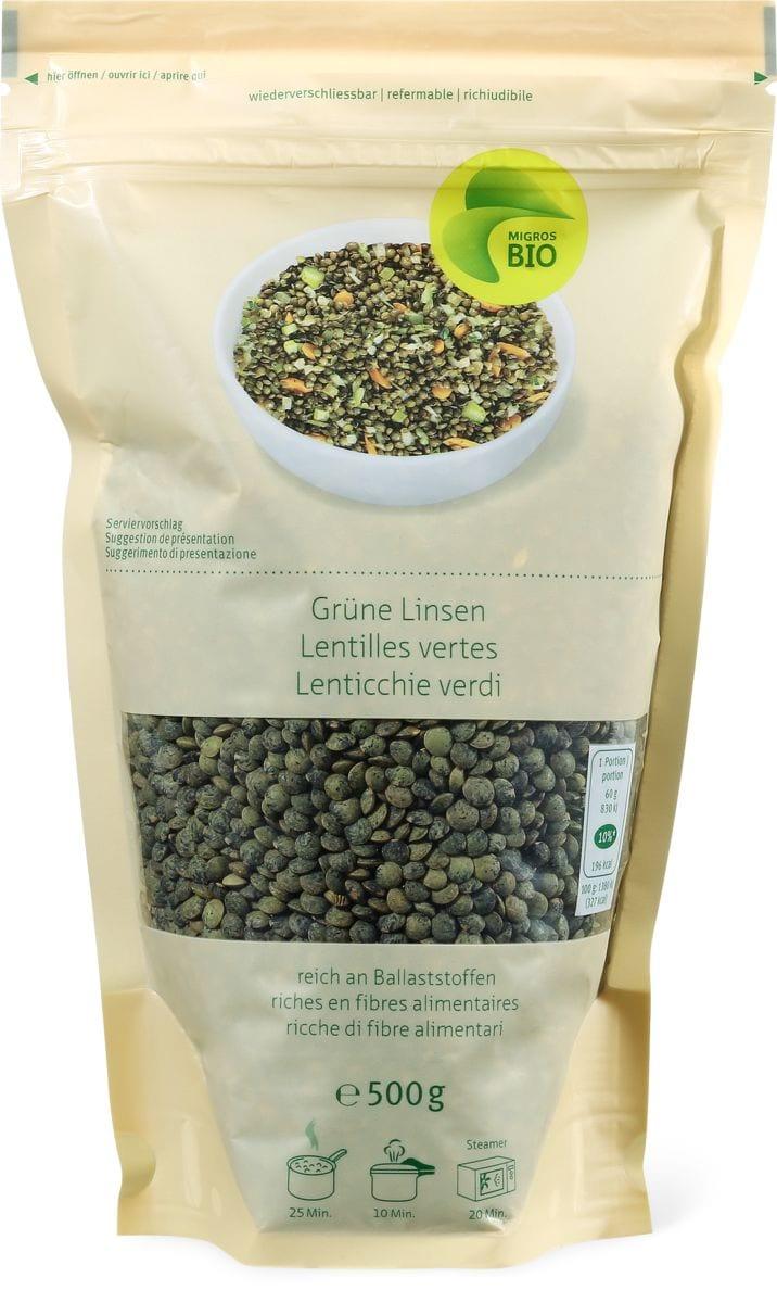 Bio lenticchie verdi