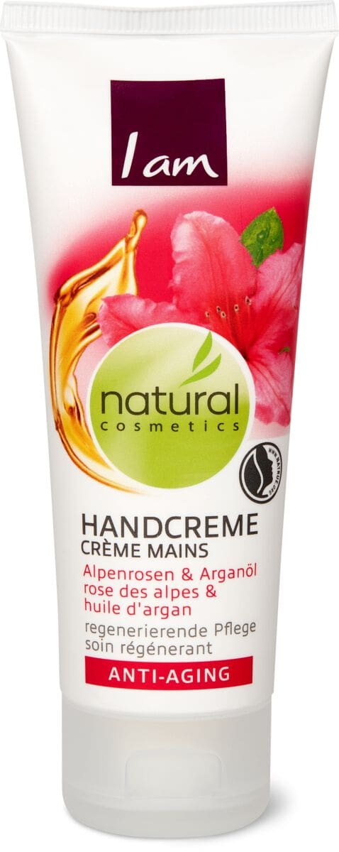 I am Natural Cosmetics anti-aging crème mains