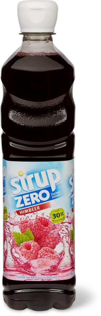 Sirup zero framboise