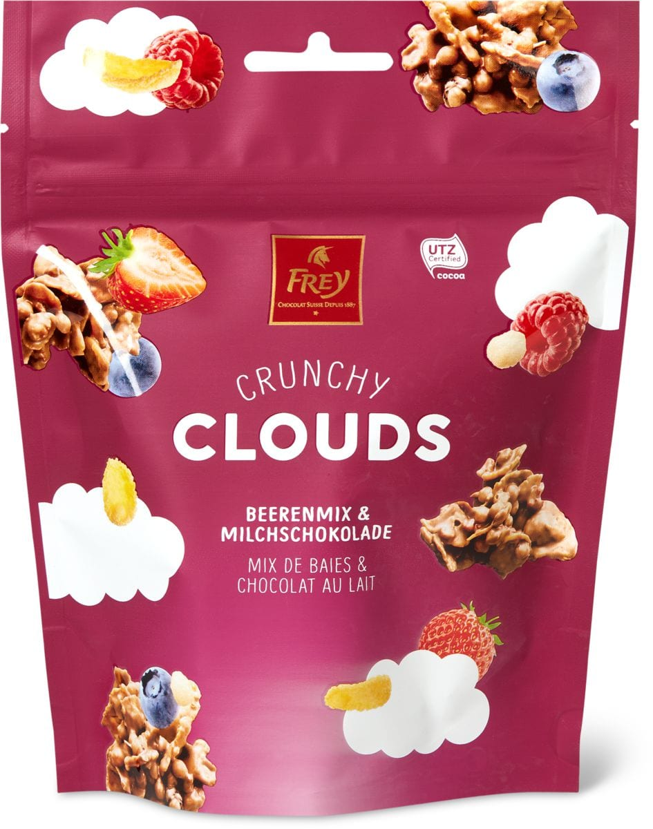 Crunchy Clouds Beeren Mix