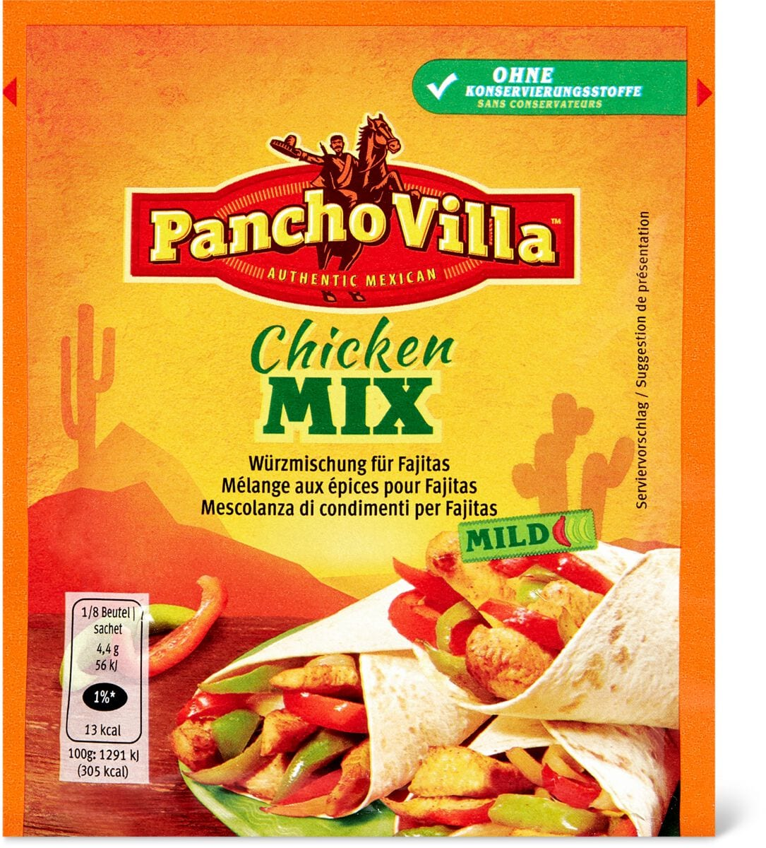 Pancho Villa Chicken Mix