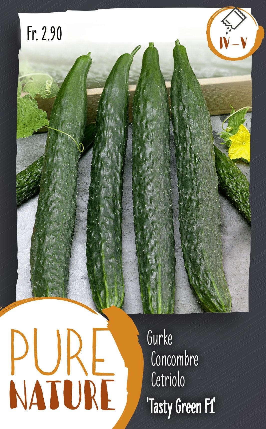 Do it + Garden Concombre 'Tasty Green' F1 0.5g Semences de legumes