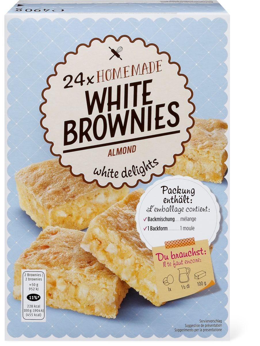 White Brownies